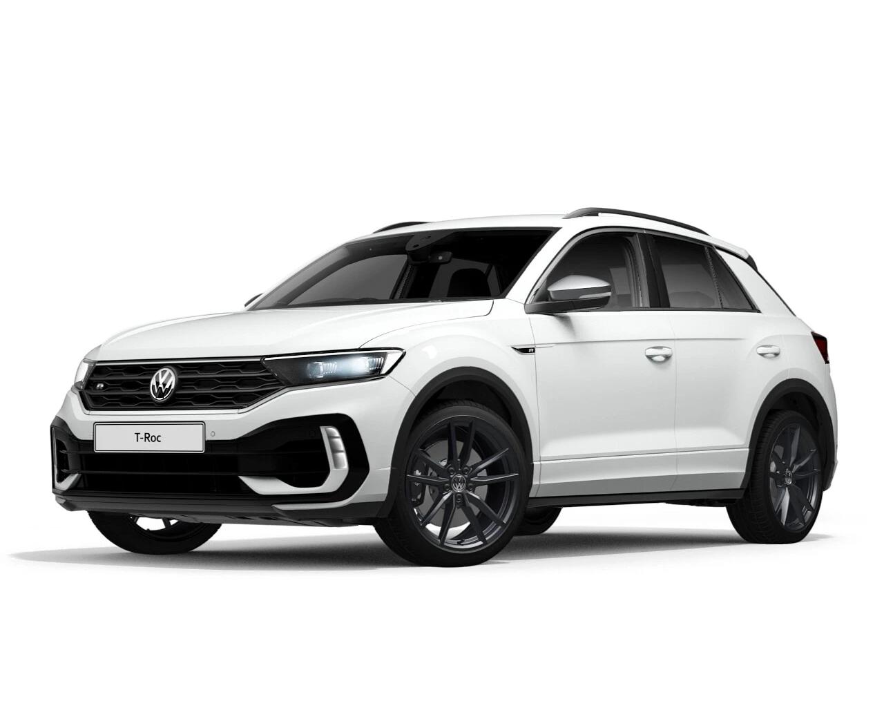 New T Roc Volkswagen 2 0 Tsi R Line 4motion 5dr Dsg 2021 Lookers